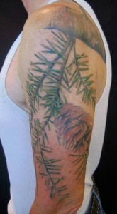 douglas fir tattoo