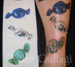 color candy duplication tattoo